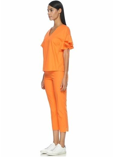 Mds Stripes Pantolon Oranj